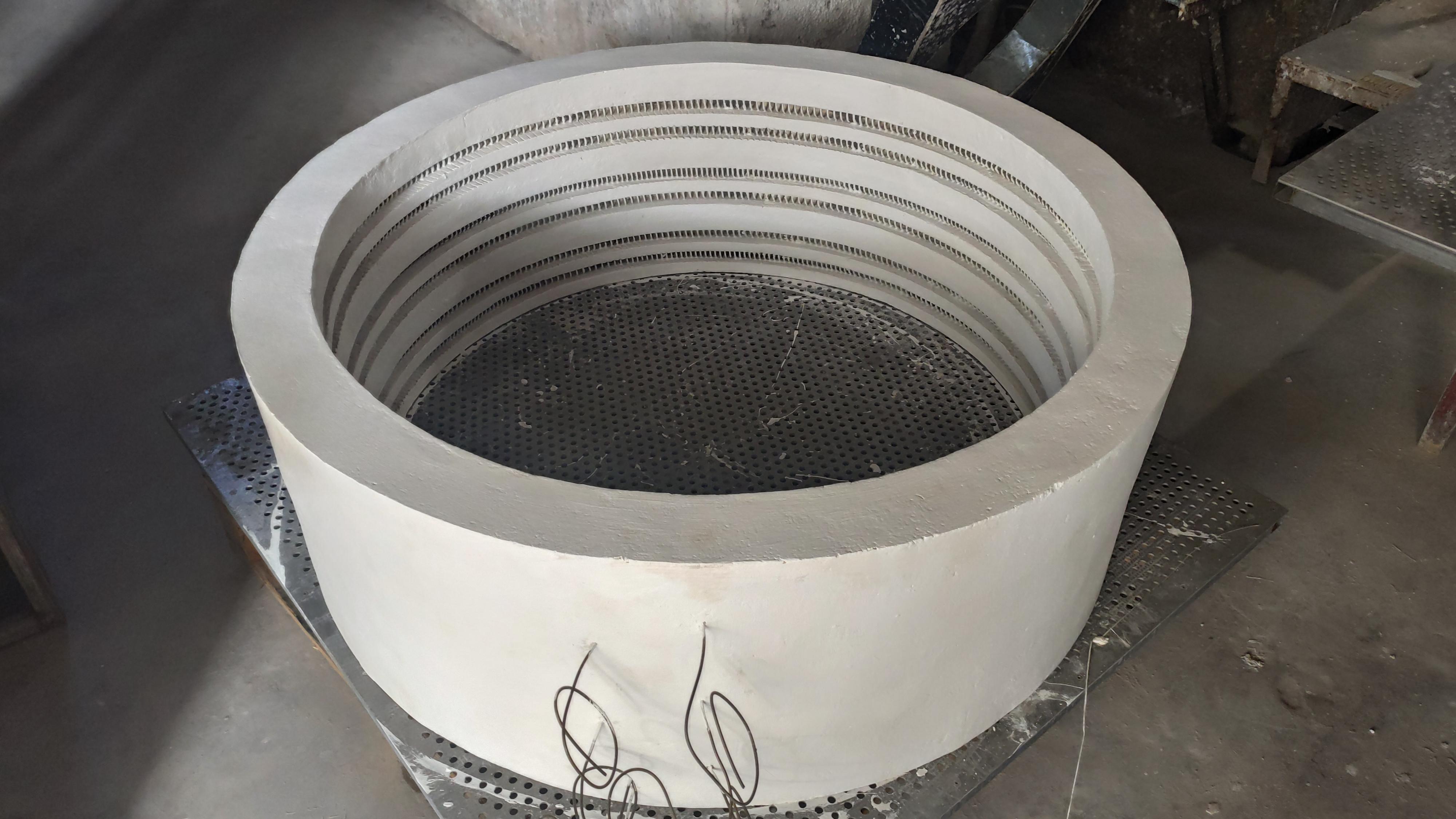 硅酸铝电阻丝炉膛
